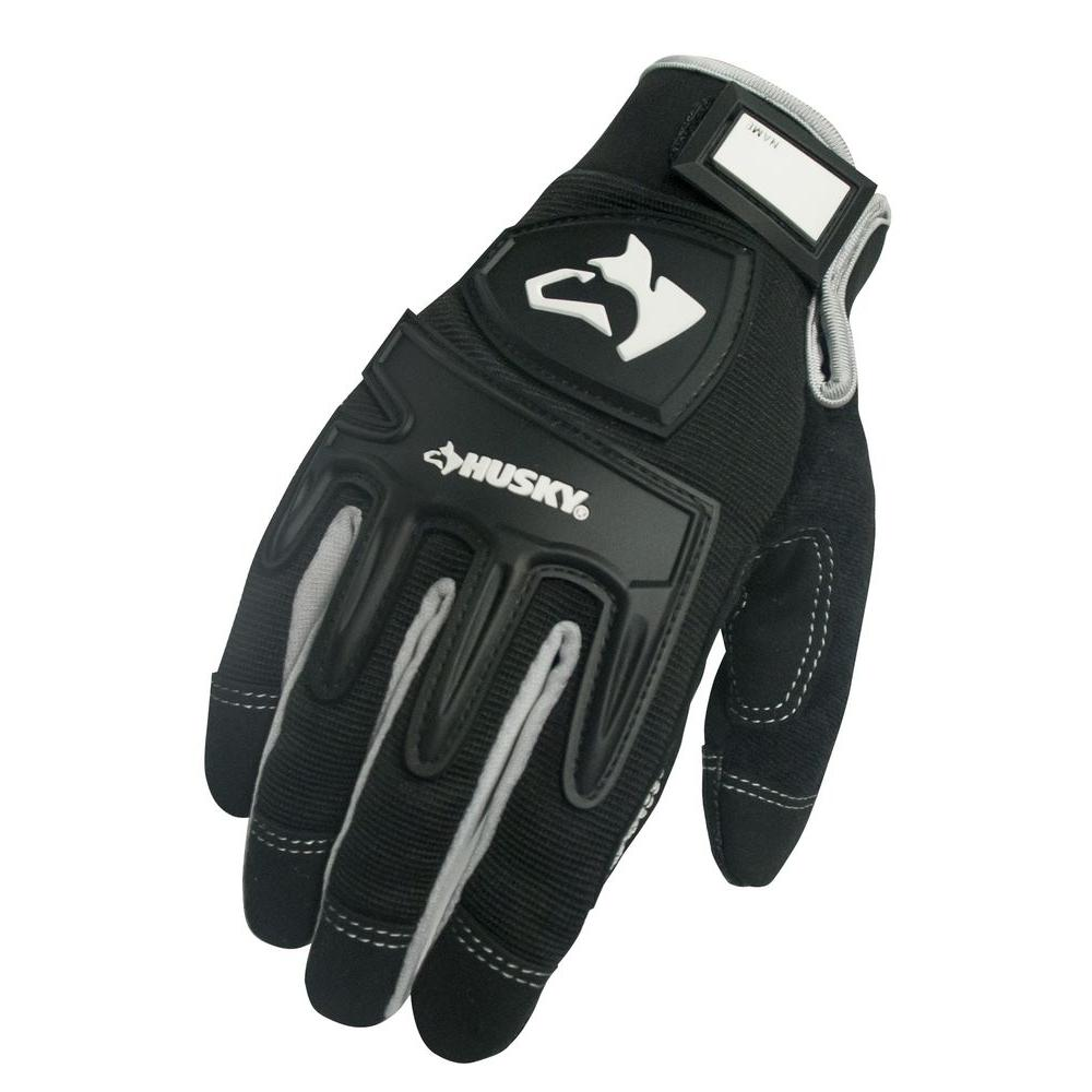 Husky Extra Large Mechanic Gloves (3 per Pack)