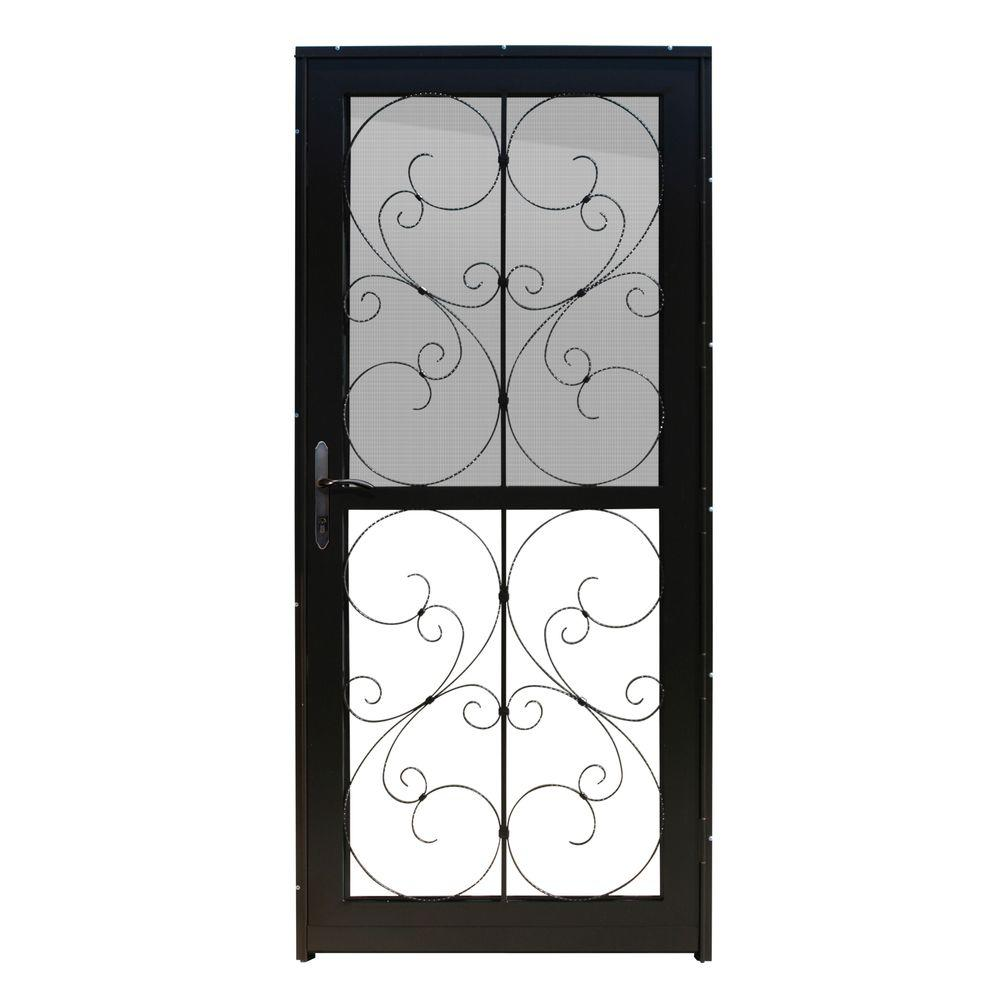 Unique Home Designs 36 In. X 80 In. Coventry Copper Recessed Mount All  Season