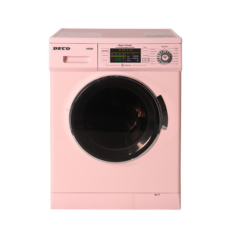 1 6 Cu Ft Pink High Efficiency Vented Electric All In