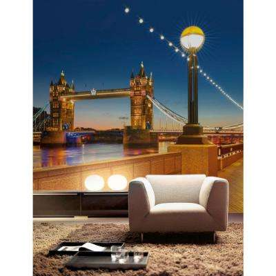 100 in. x 145 in. Tower Bridge Wall Mural