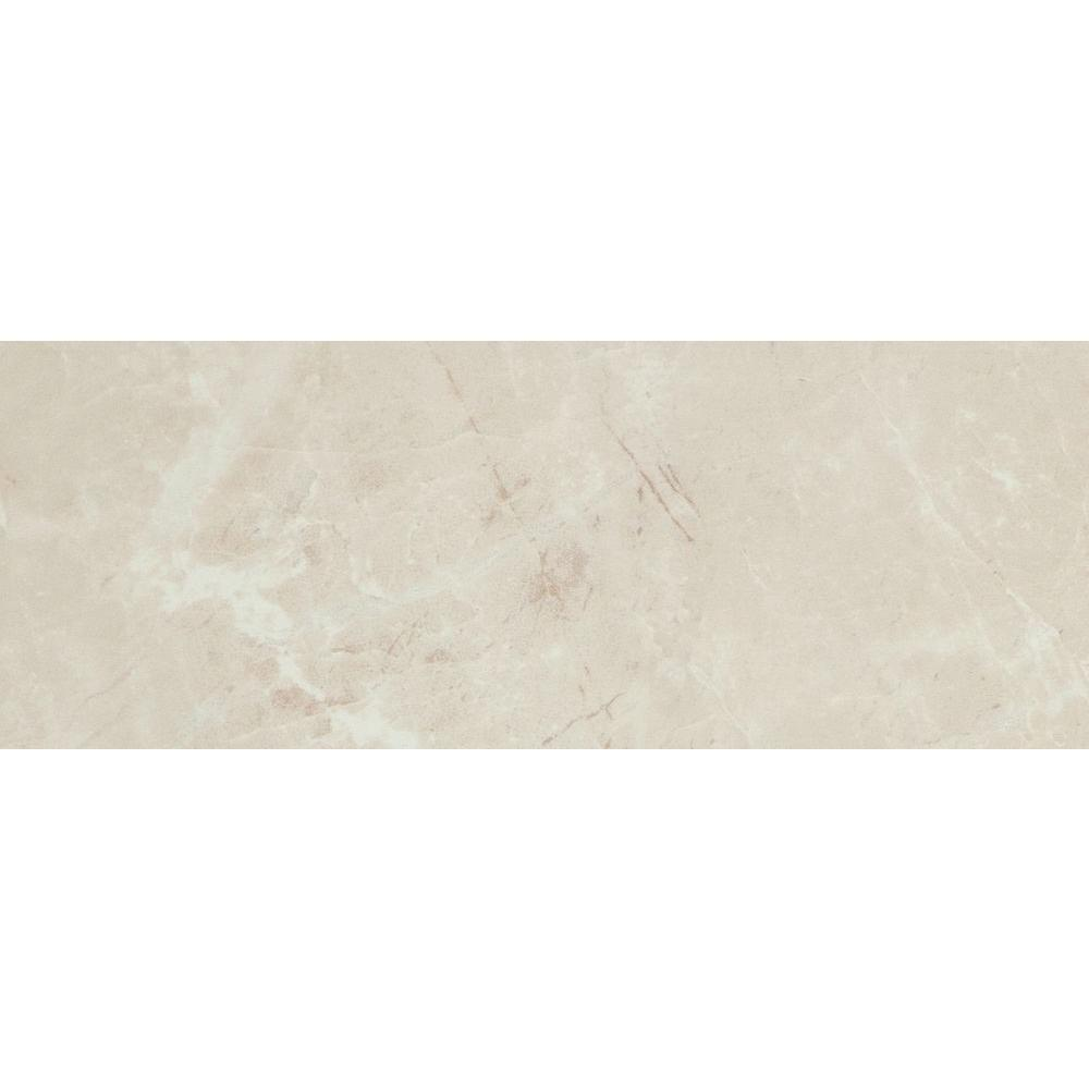 Delray Beige 3 In X 8 Ceramic Trim Wall Tile