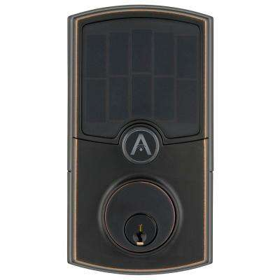 Barrington Tuscan Bronze WiFi Smart Electronic Deadbolt