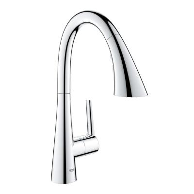 Ladylux L2 Single-Handle Bar Faucet with Pull-Out Sprayer in StarLight Chrome