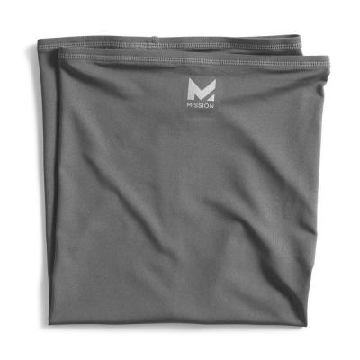 10 in. x 21 in. Charcoal Cooling Neck Gaiter