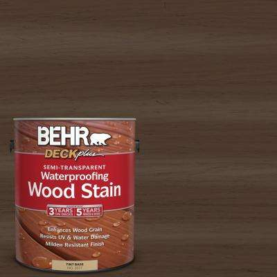 1 gal. #ST-111 Wood Chip Semi-Transparent Waterproofing Exterior Wood Stain