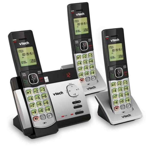 3-Handset Answering System with Caller ID