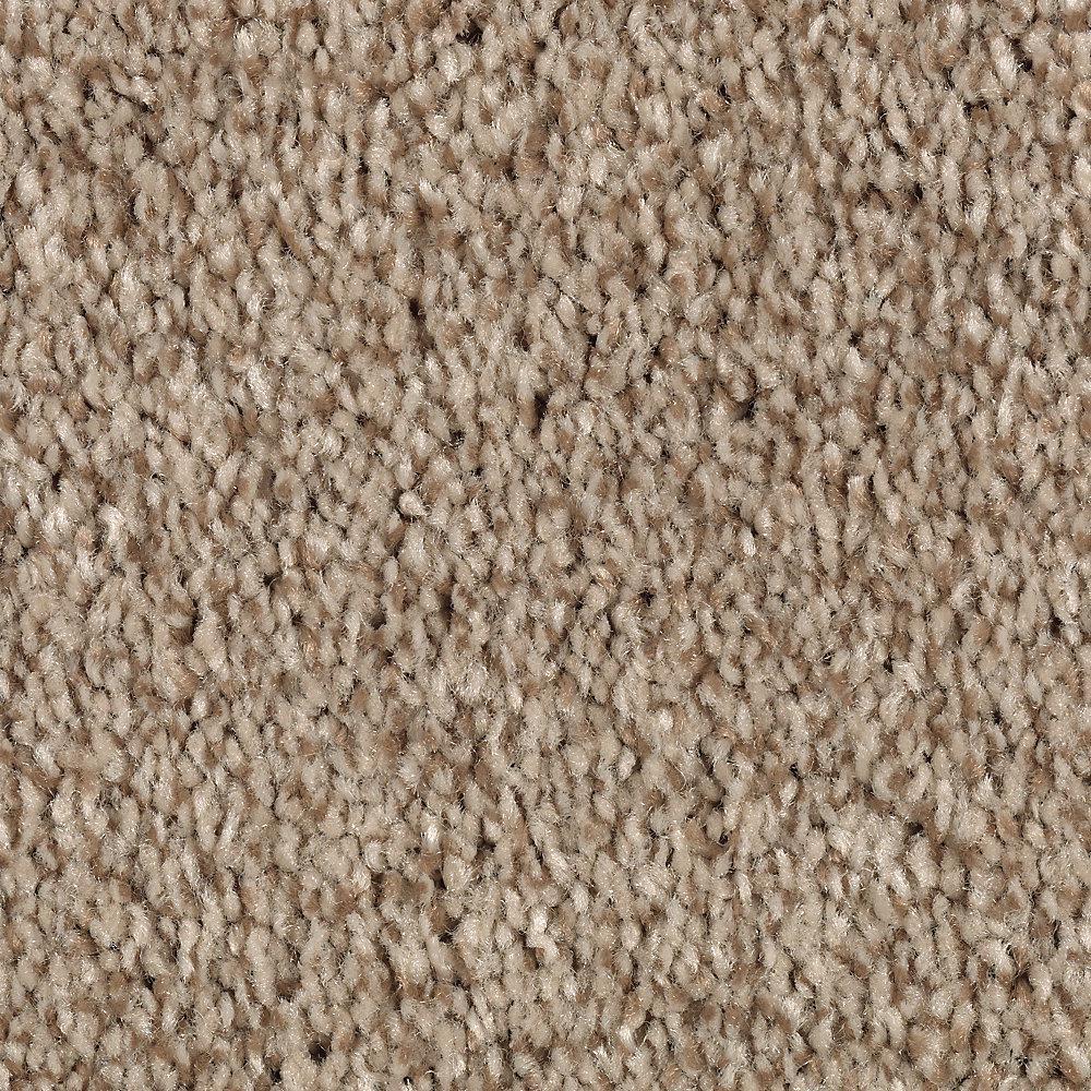 Carpet Sample - Jump Street - Color Cobblestone Texture 8 in. x 8 in.