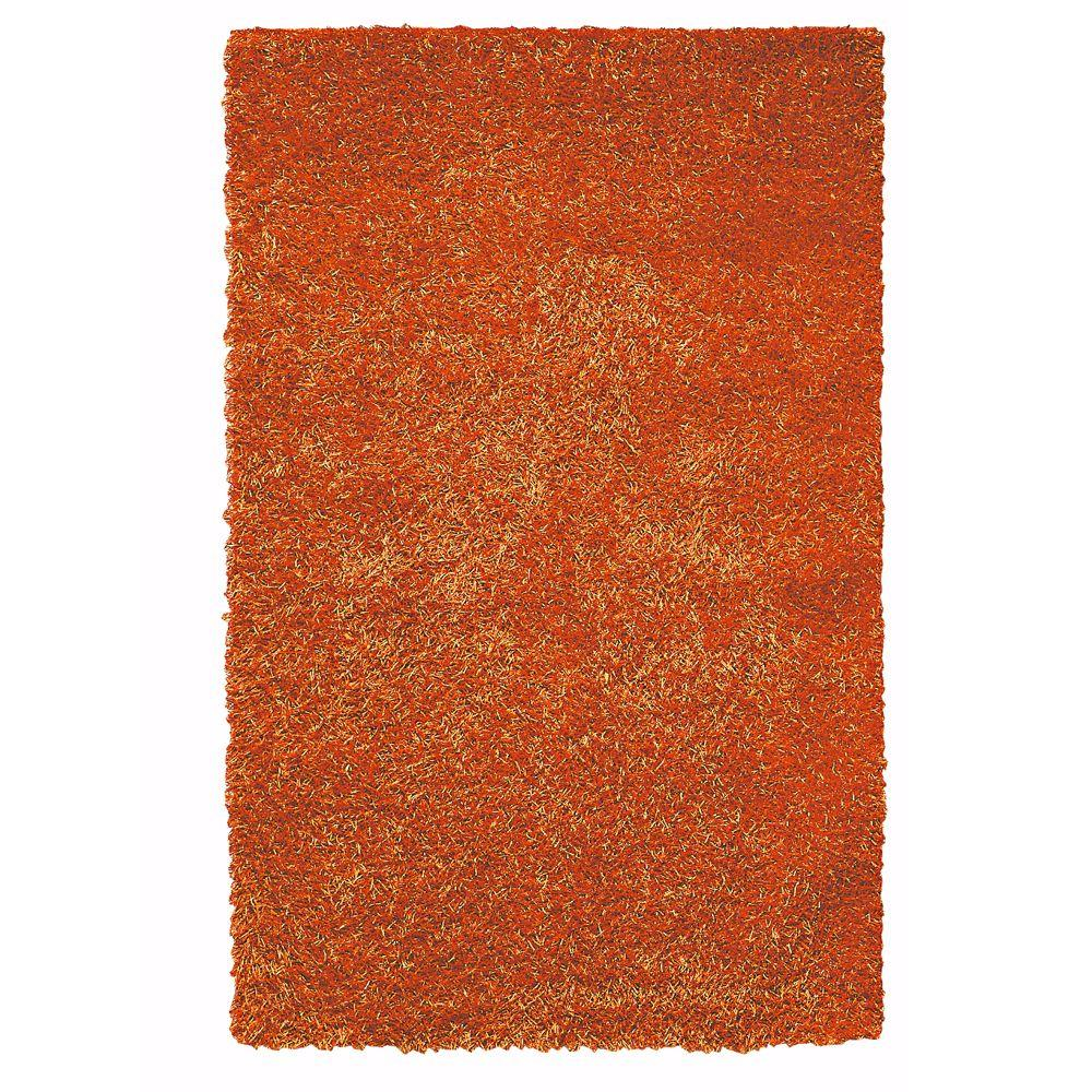 Home Decorators Collection Glitzy Rust 3 ft. 6 in. x 5 ft. 6 in. Area Rug