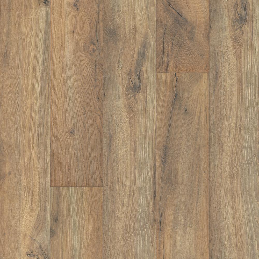 Take Home Sample - Outlast+ Linton Auburn Oak Laminate Flooring 5 in. x 7 in.
