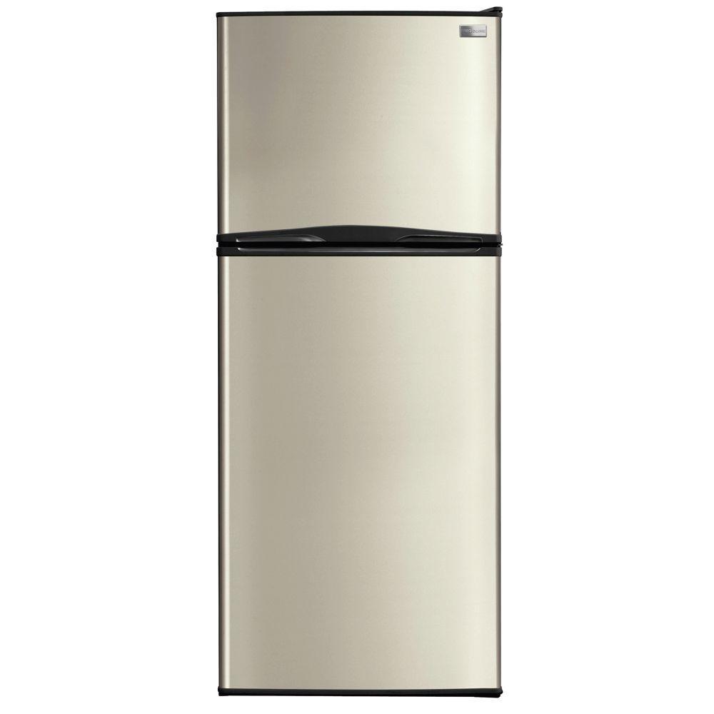 Frigidaire 9.9 cu. ft. Top Freezer Refrigerator in Silver Mist-DISCONTINUED
