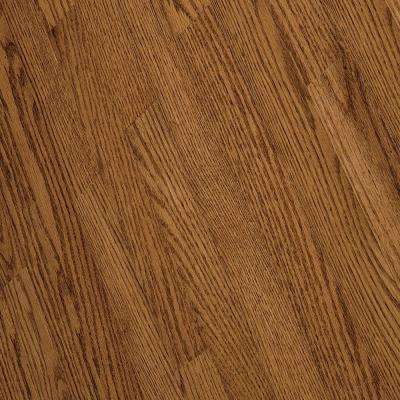 Bayport Oak Gunstock 3/4 in. Thick x 2-1/4 in. Wide x Varying Length Solid Hardwood Flooring (20 sq. ft. / case)