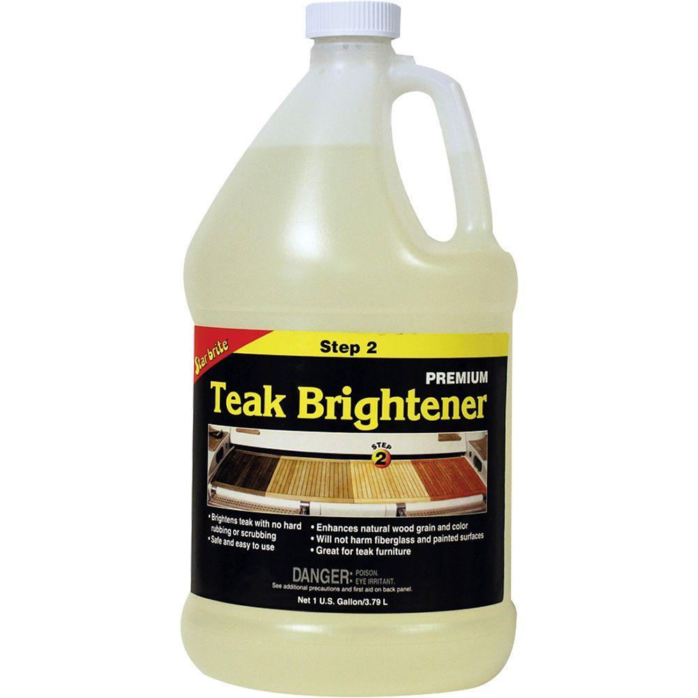Star Brite 128 fl. oz. Teak Brightener-081500N - The Home Depot