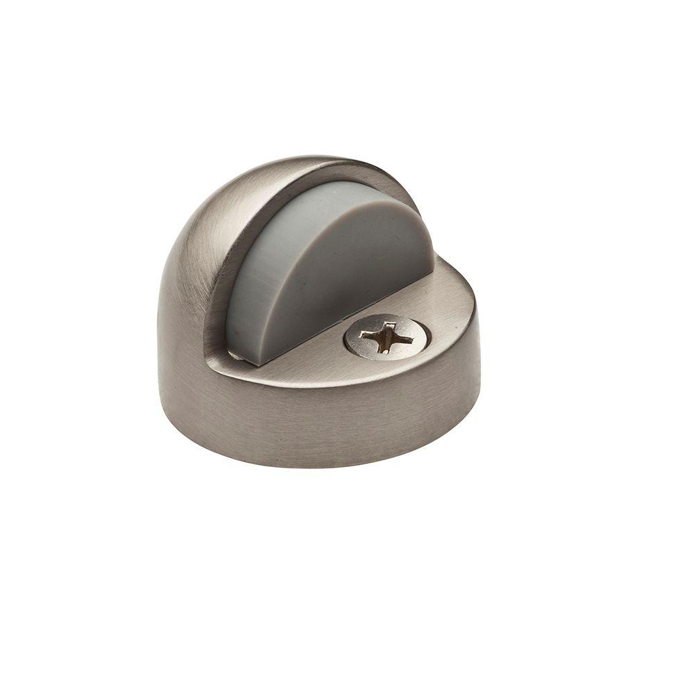 Satin Nickel Half-Dome Floor Bumper