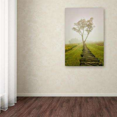 "24 in. x 16 in. ""Calming Morning"" by PIPA Fine Art Printed Canvas Wall Art"