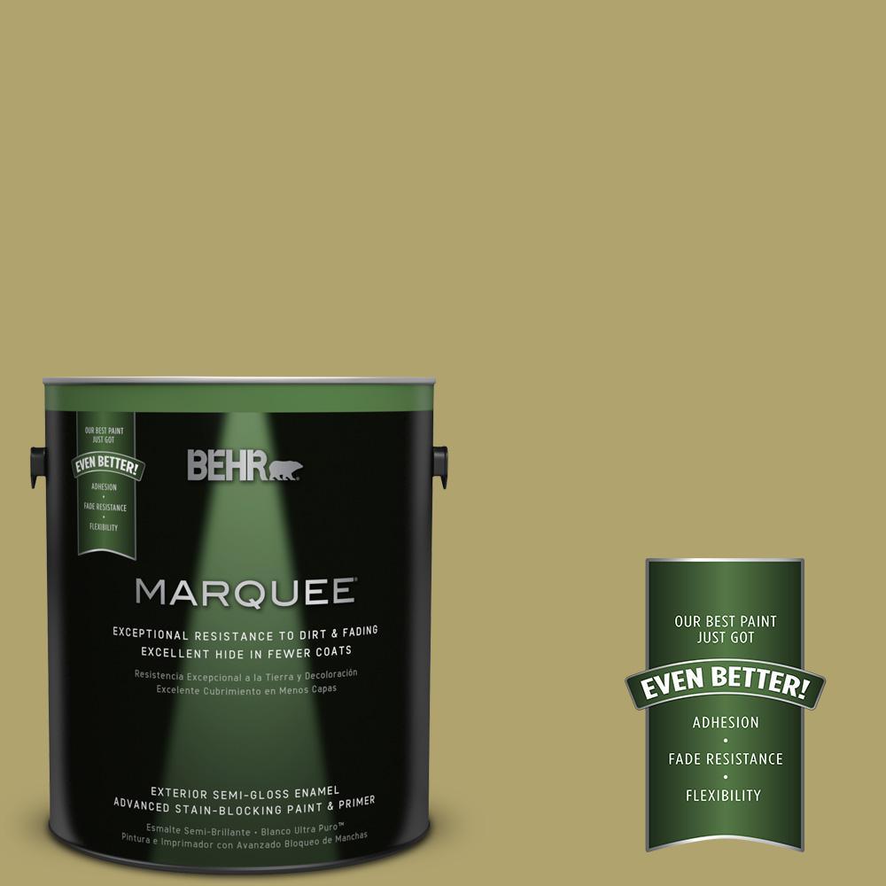 1-gal. #HDC-WR15-10 Green Bean Casserole Semi-Gloss Enamel Exterior Paint