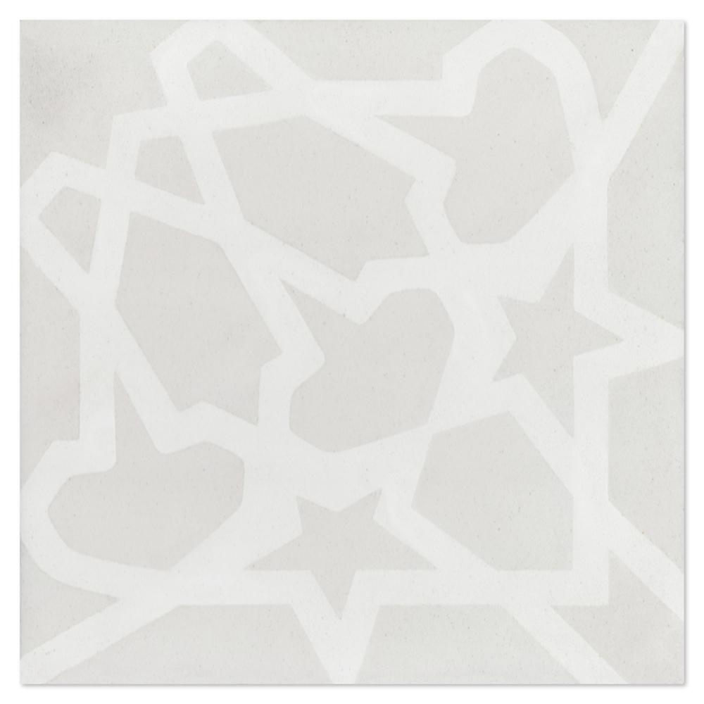 Andalusia Fog (PS) 7-7/8 in. x 7-7/8 in. Cement Handmade Floor