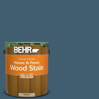 1 gal. #SC-107 Wedgewood Solid Color House and Fence Wood Stain