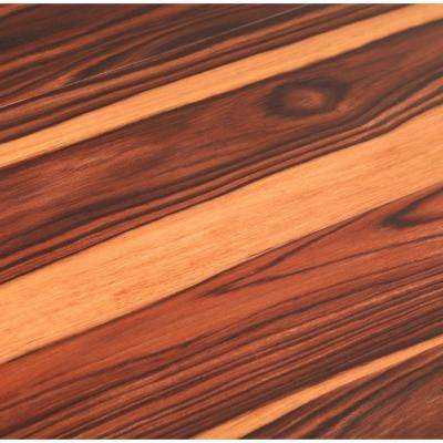 Allure 6 in. x 36 in. African Wood Dark Luxury Vinyl Plank Flooring (24 sq. ft. / case)
