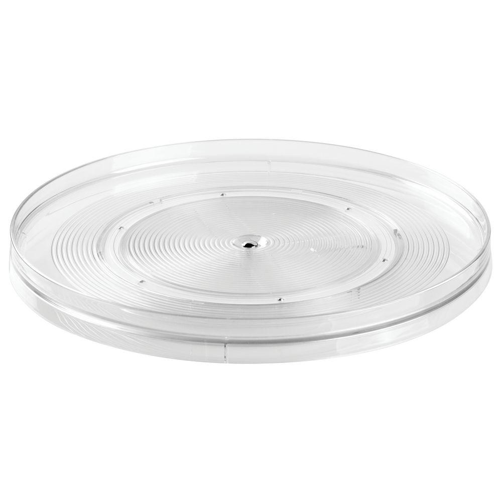 Linus 14 in. Turntable, Clear