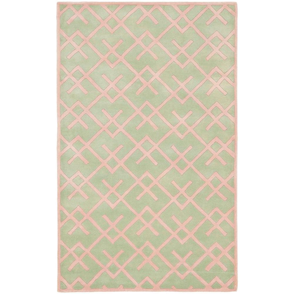 Chatham Green 4 ft. x 6 ft. Area Rug
