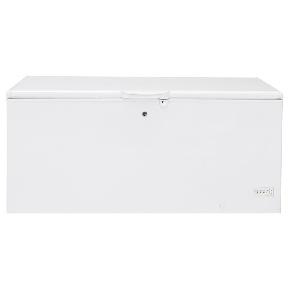 21.7 cu. ft. Chest Freezer in White