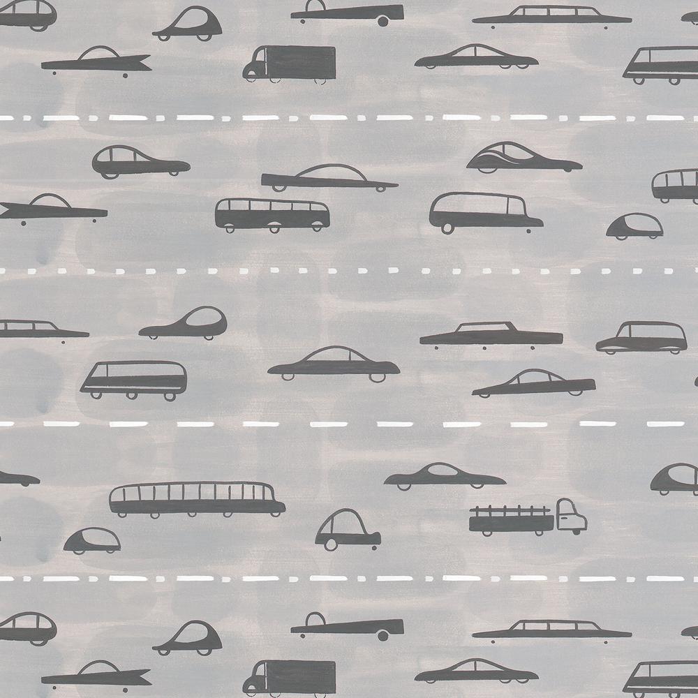 5 ft. x 12 ft. Laminate Sheet in Super Highway (Landscape) with Virtual Design Matte