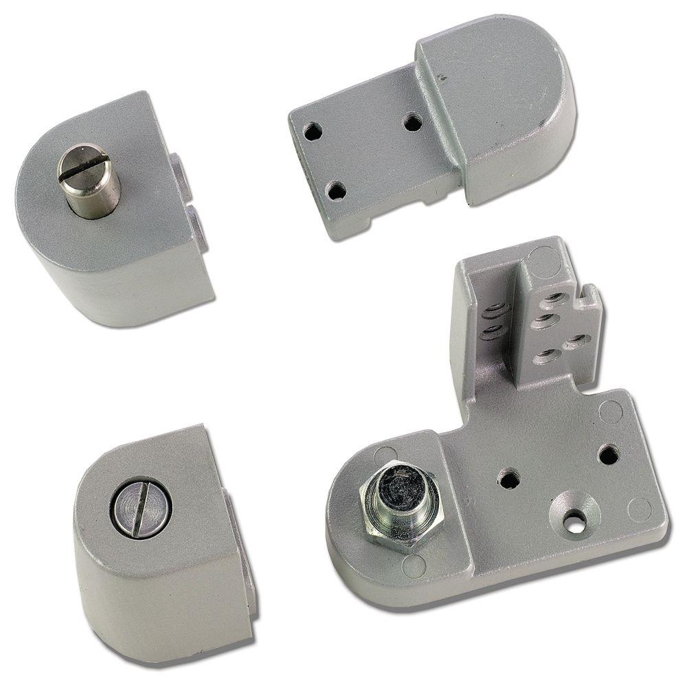 Global Door Controls Aluminum Right Hand Offset Pivot
