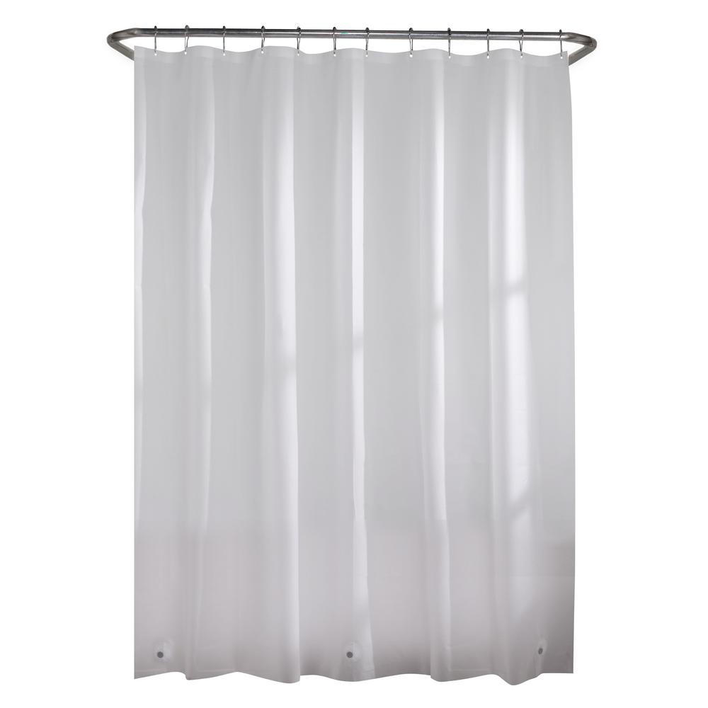 Fabric Shower Curtain Liner 70 X 72 Machine Washable Mildew