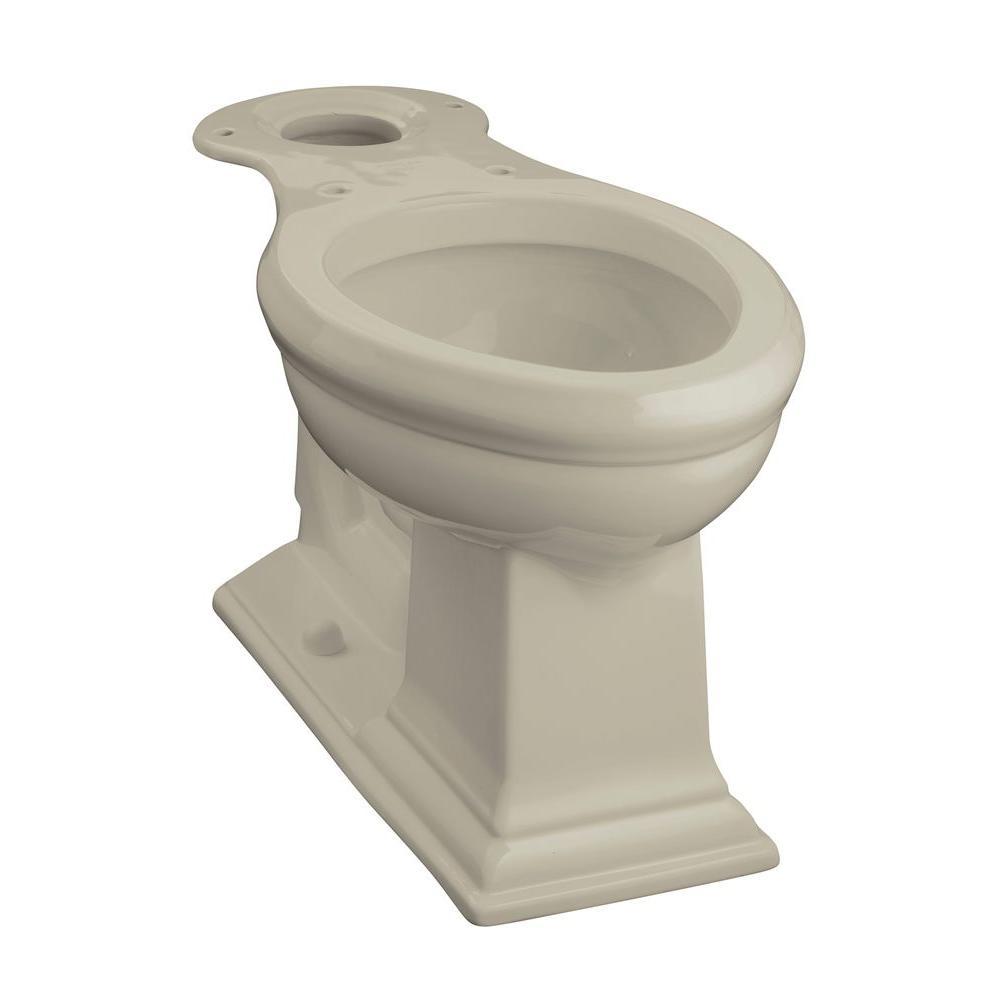 Memoirs Comfort Height Elongated Toilet Bowl Only in Sandbar