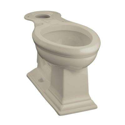 Memoirs Comfort Height Elongated Toilet Bowl Only in Sandbar