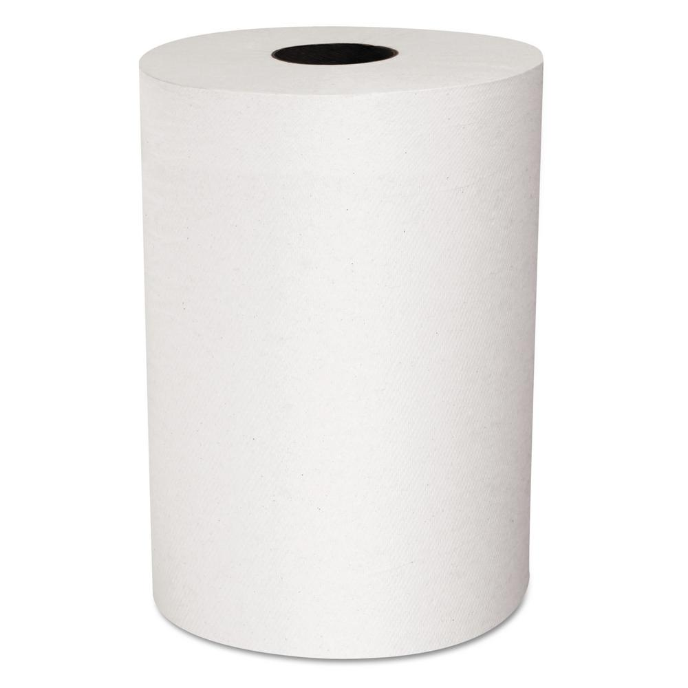 Scott White 1 Ply Slimroll Hard Roll Paper Towels Case Of 6