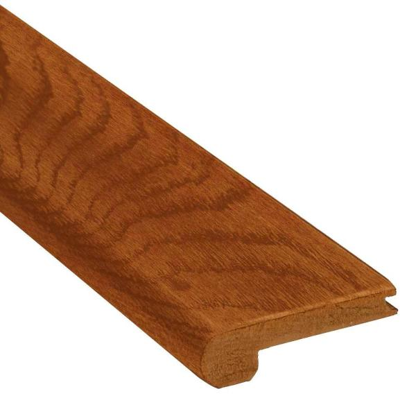 Bruce Maple 3 4 In Thick X 3 1 8 In Wide X 78 In Length Stair Nose Molding T7397 The Home Depot