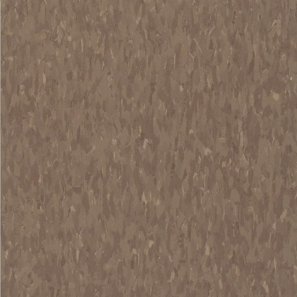 Imperial Texture VCT 12 in. x 12 in. Chocolate Commercial Vinyl