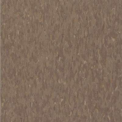 Imperial Texture VCT 12 in. x 12 in. Chocolate Standard Excelon Commercial Vinyl Tile (45 sq. ft. / case)