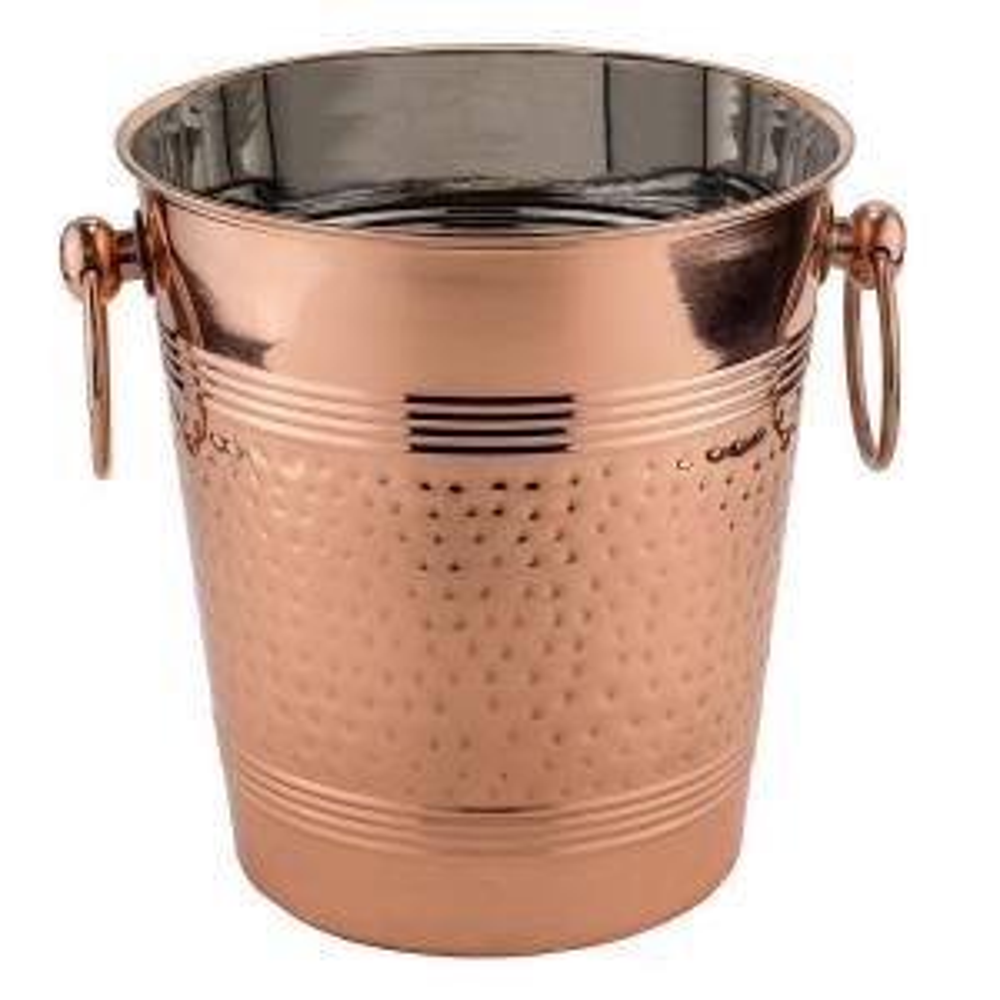 Fez Decor Copper Hammered Wine Cooler