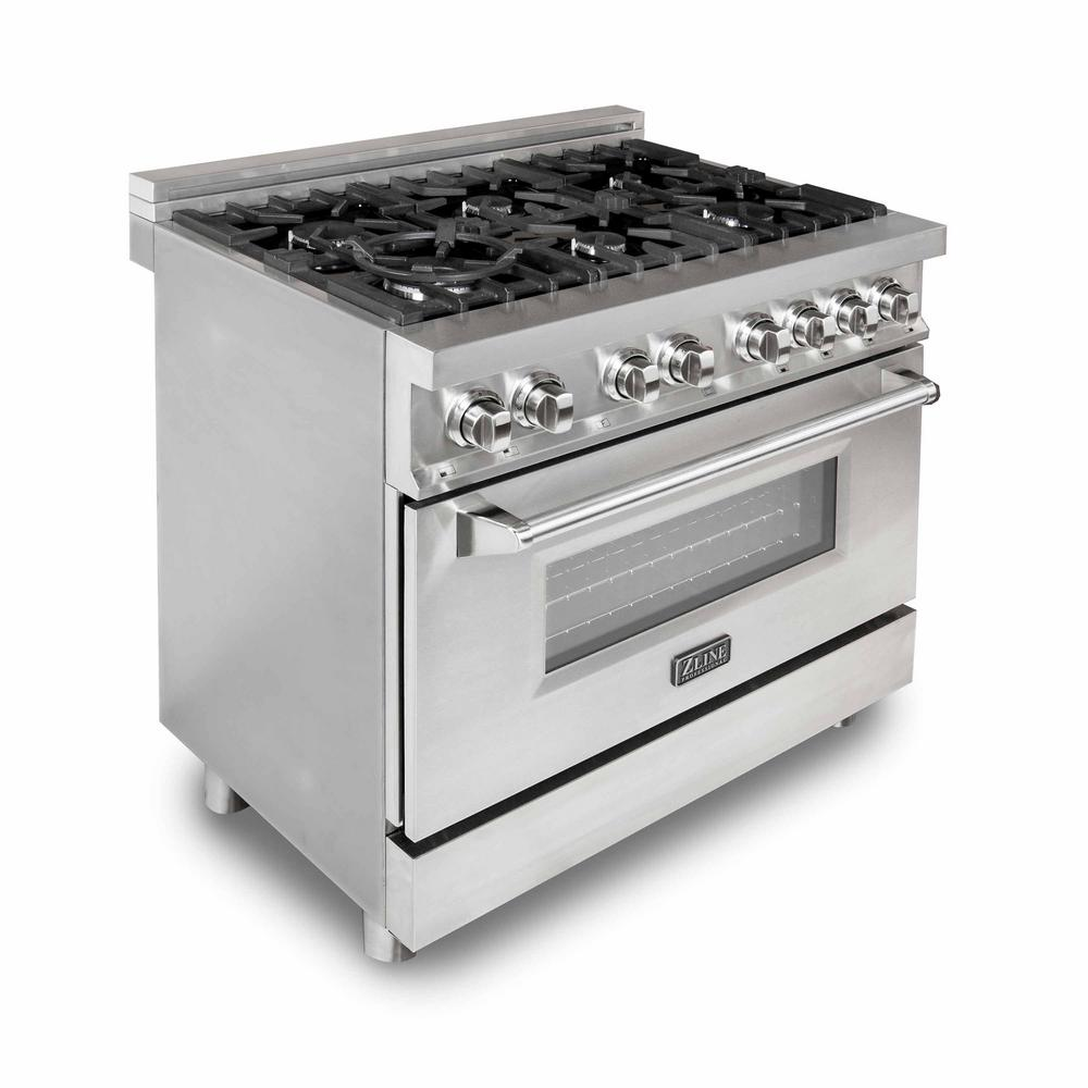 Gas Range Oven Part - 16: ZLINE Kitchen And Bath Zline 36 In. 4.6 Cu.ft. Gas Range With