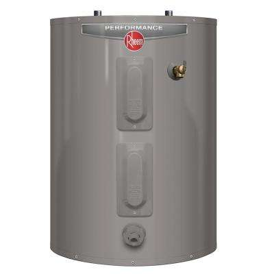 Performance 30 Gal. Short 6 Year 4500/4500-Watt Elements Electric Water Heater with Blanket