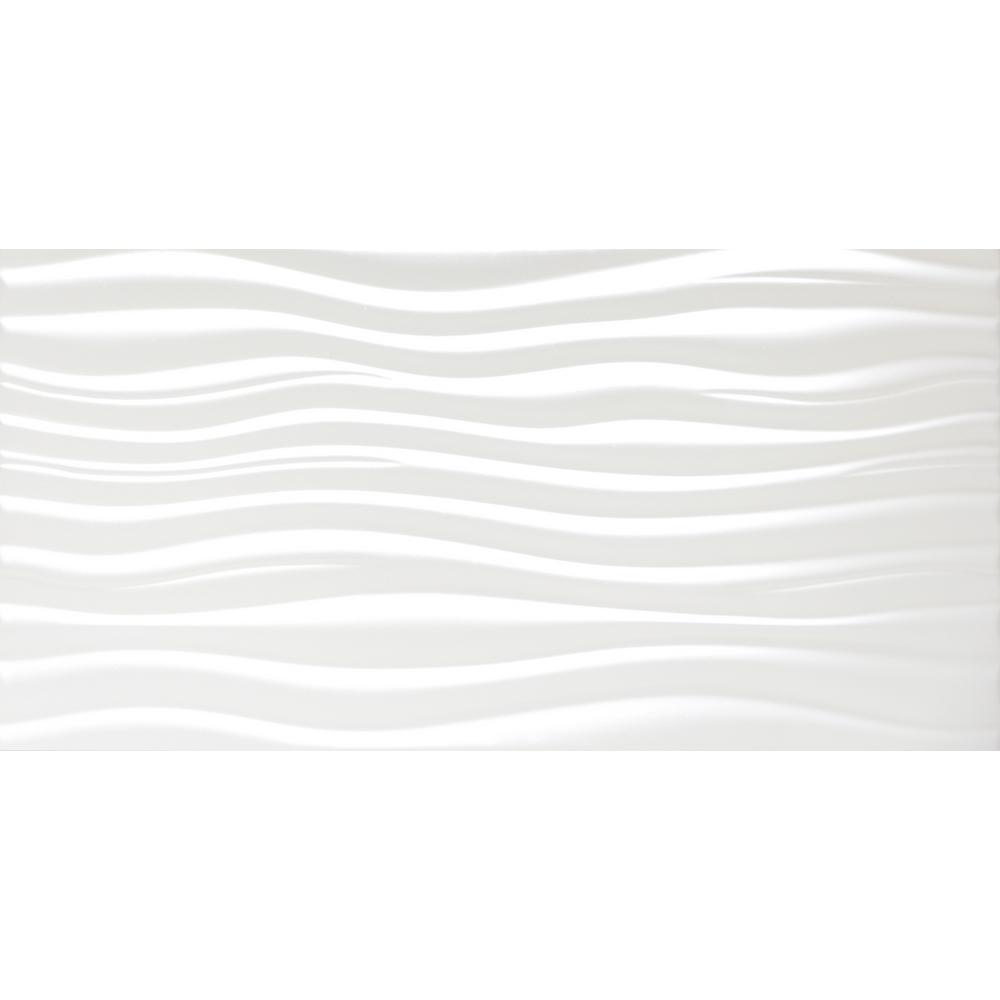 3x3 ceramic tile tile the home depot jazz white matte 1181 in x 2362 in ceramic wall tile dailygadgetfo Gallery