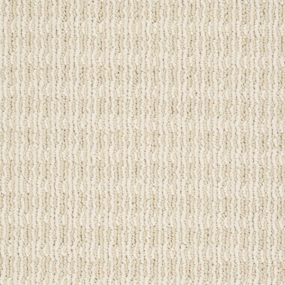 Martha Stewart Living Waltonsworth - Color Hickory 6 in. x 9 in. Take Home Carpet Sample