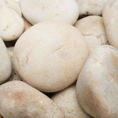 2 in. to 3 in., 2200 lb. Large Golden Sapphire Pebbles Super Sack