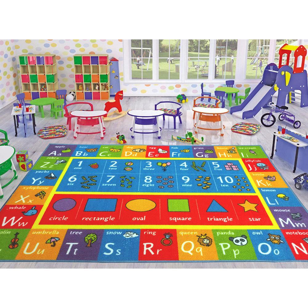 Children Bedroom Abc Alphabet Numbers