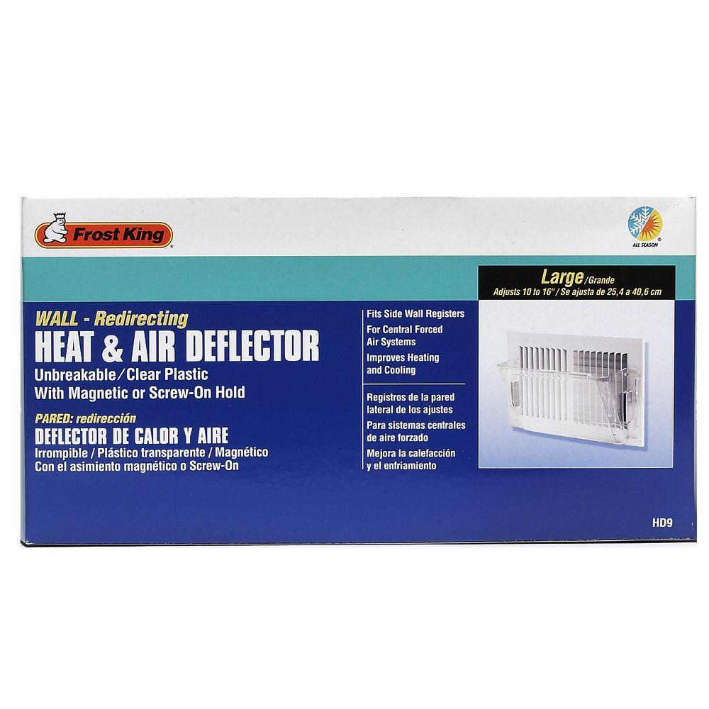 Heat And Air Deflector Hd7 The Home Depot