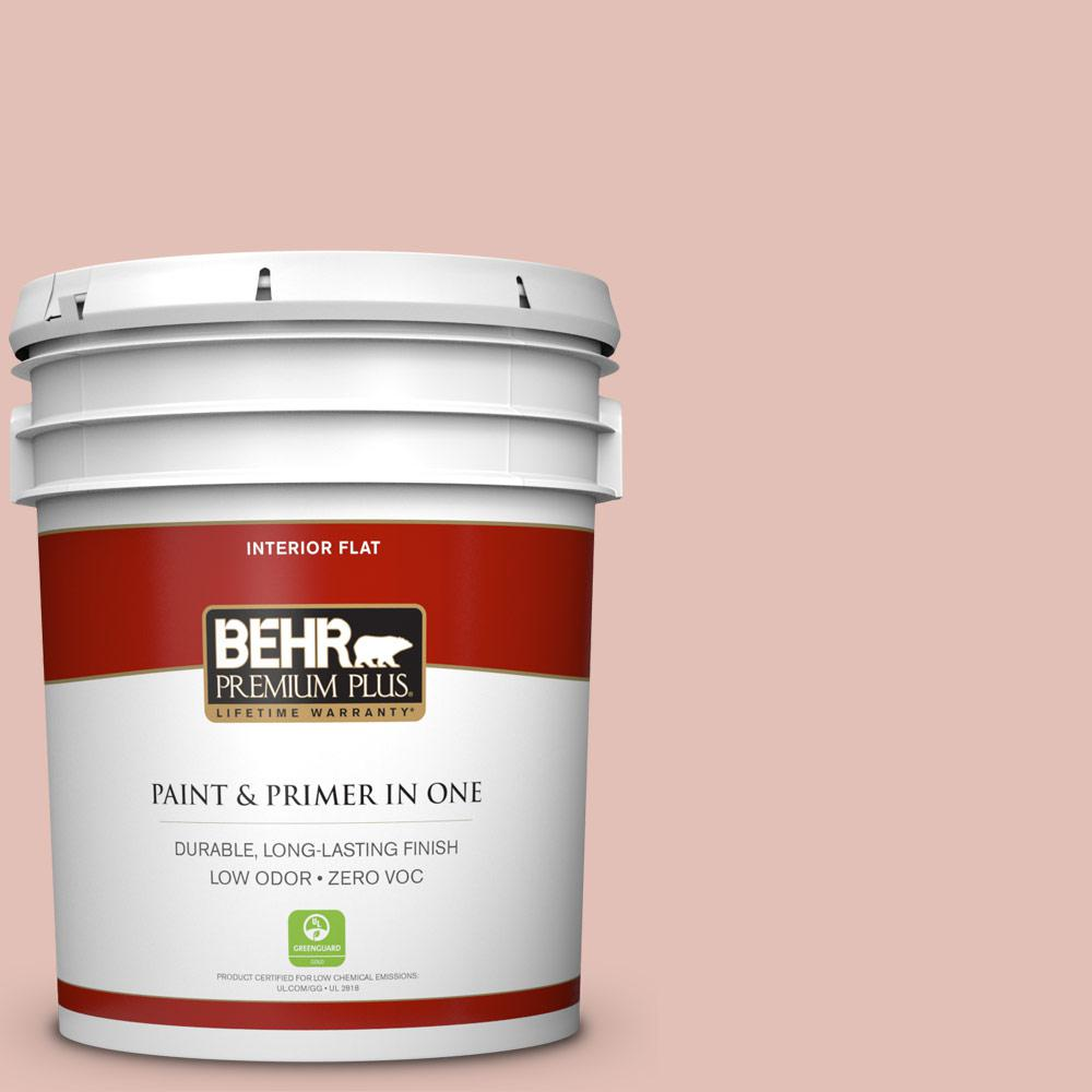 BEHR Premium Plus 5-gal. #S180-2 Sunwashed Brick Flat Interior Paint