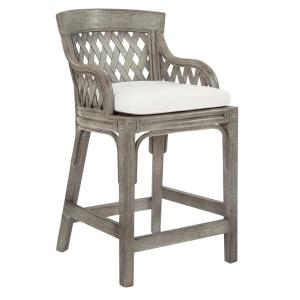 Superb Osp Home Furnishings Plantation 24 In Grey Counter Stool Andrewgaddart Wooden Chair Designs For Living Room Andrewgaddartcom