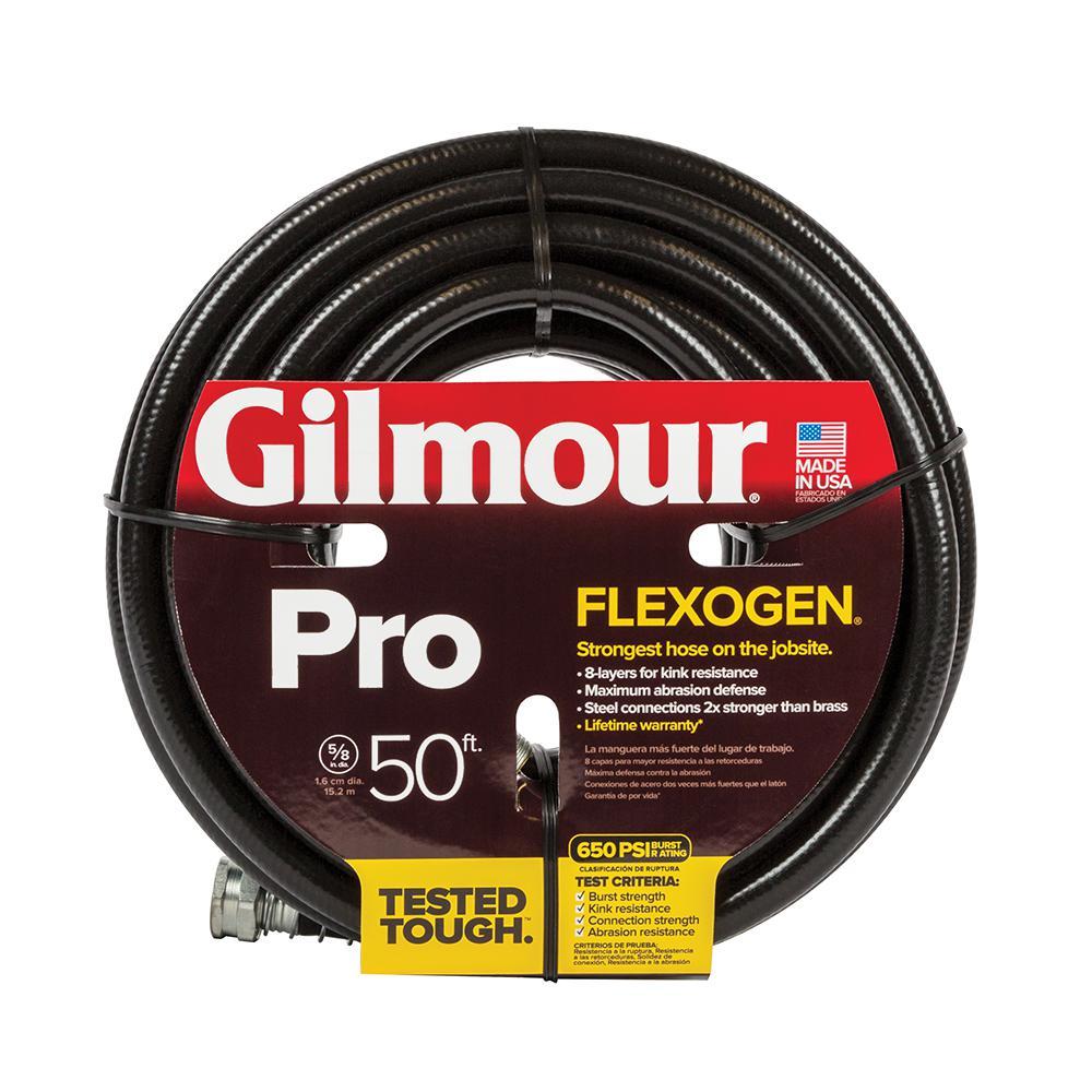 Gilmour 5/8 In. Dia X 50 Ft. Flexogen Pro Water Hose