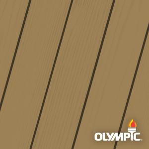 Olympic Maximum 1 Gal Butternut Solid Color Exterior