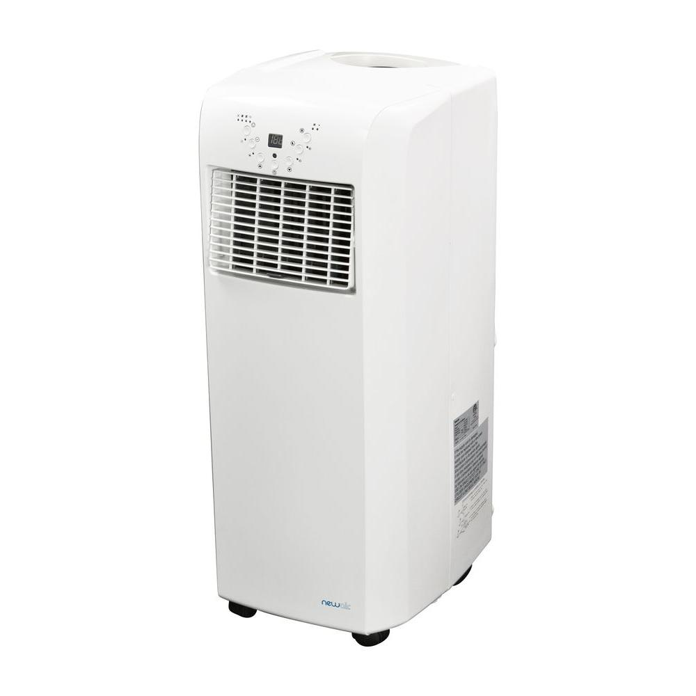 NewAir Ultra Compact 10,000 BTU Portable Air Conditioner With Dehumidifier