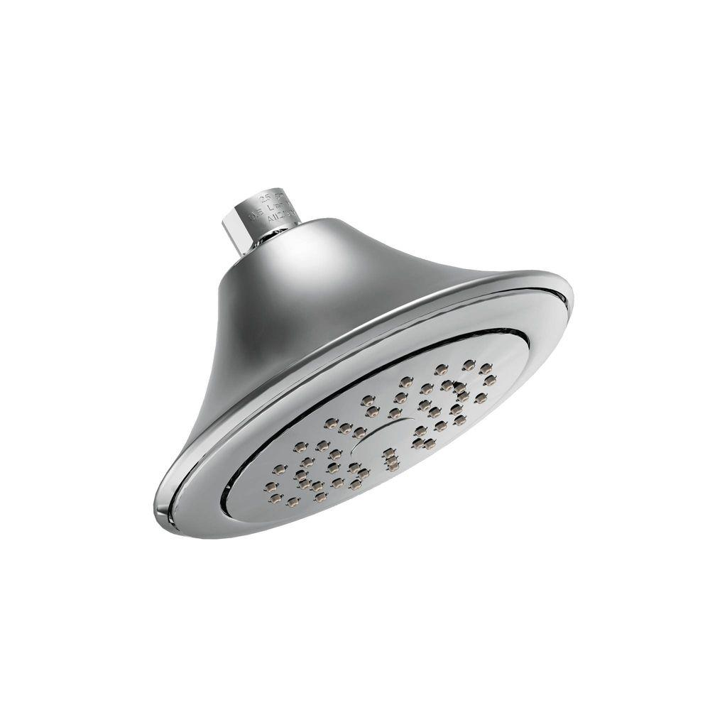 Captivating MOEN Rothbury 1 Spray 6 1/2 In. Showerhead In Chrome
