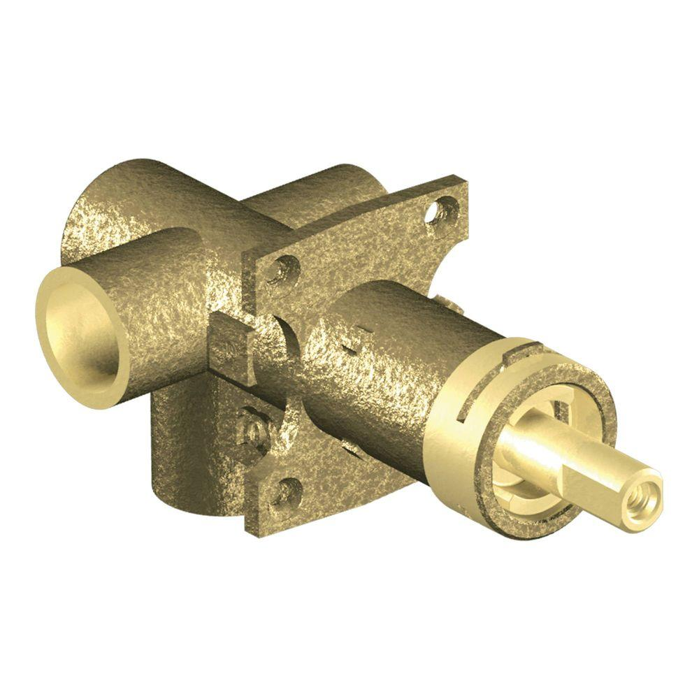 brass roughin 3function transfer shower valve 12 in
