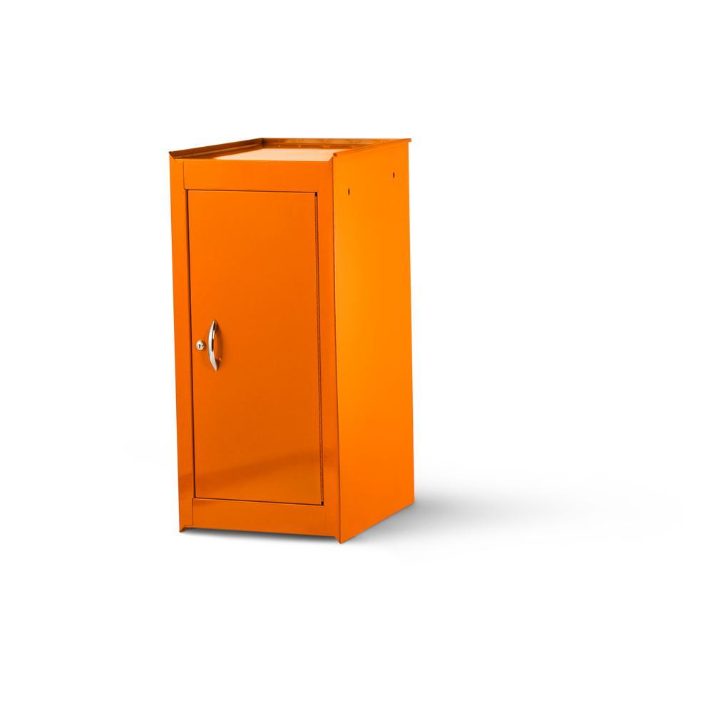 International Tech Series 15 in. 1-Shelf Full Side Locker, Orange